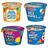 Kellogg's, Breakfast Cereal in a Cup, Assortment Pack, Bulk Size (Pack of 24 Cups) (Tamaño: Pack of 24)