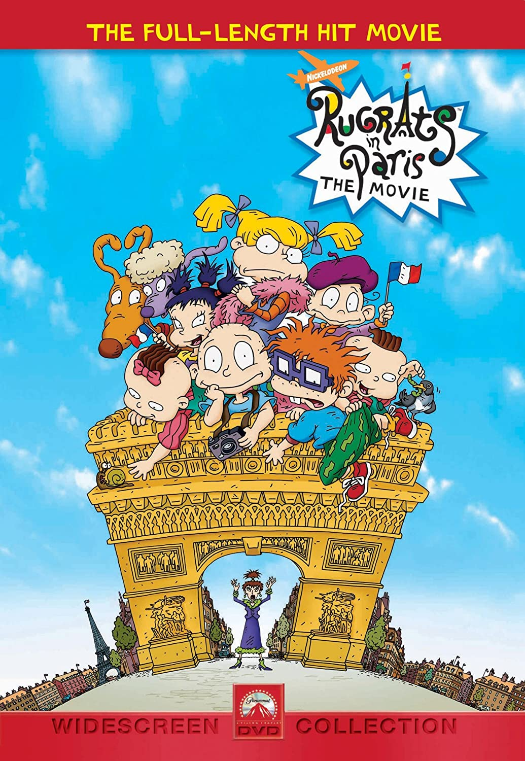 Rugrats in Paris Dvd Rugrats in Paris The Movie