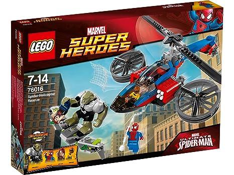 LEGO - A1401979 - Sauvetage En Spider-hélicoptère - Héro