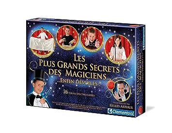 Clementoni-62508-Jeu de societe pour enfants- LES PLUS GRANDS SECRETS des magiciens ... enfin devoiles !