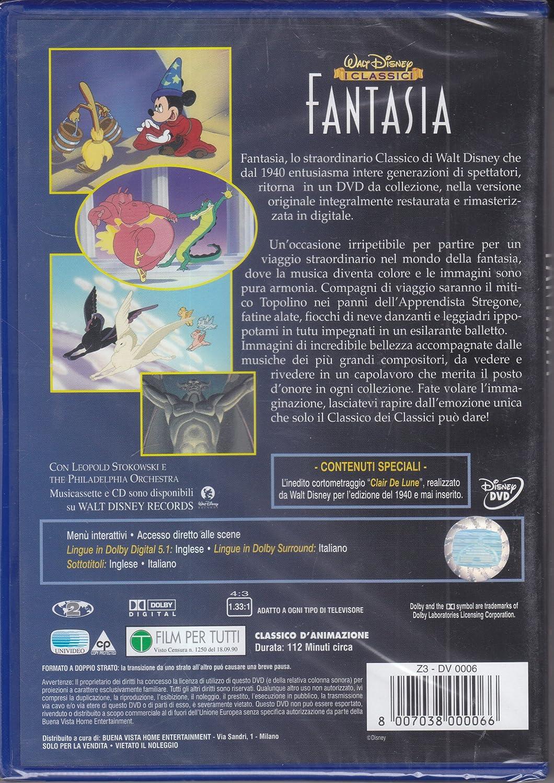 Fantasia dvd disney nuovo e sigillato z dv