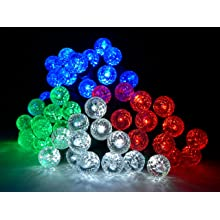 """Fortune ProductsAC-100W Accents 12 LED Light String, 81"""" Length, White"""