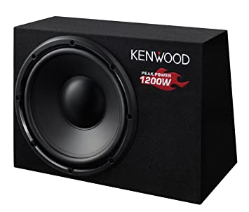 Kenwood KSC-W1200B Hauts Parleurs Auto (Import Allemagne)