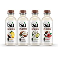 12-Pack Bai Cocofusions Variety Pack Antioxidant Infused Beverages 18 Fl. Oz. Bottles