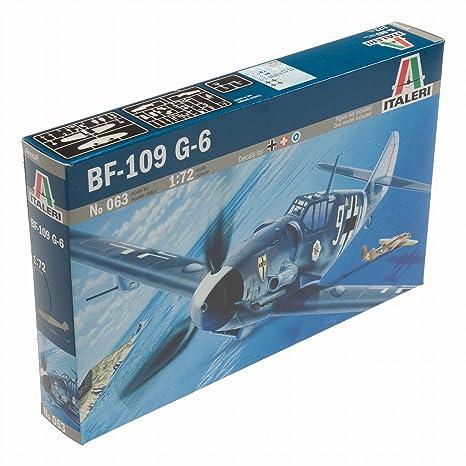Italeri - I063 - Maquette - Aviation - Messerschmitt BF109G-6 - Echelle 1:72