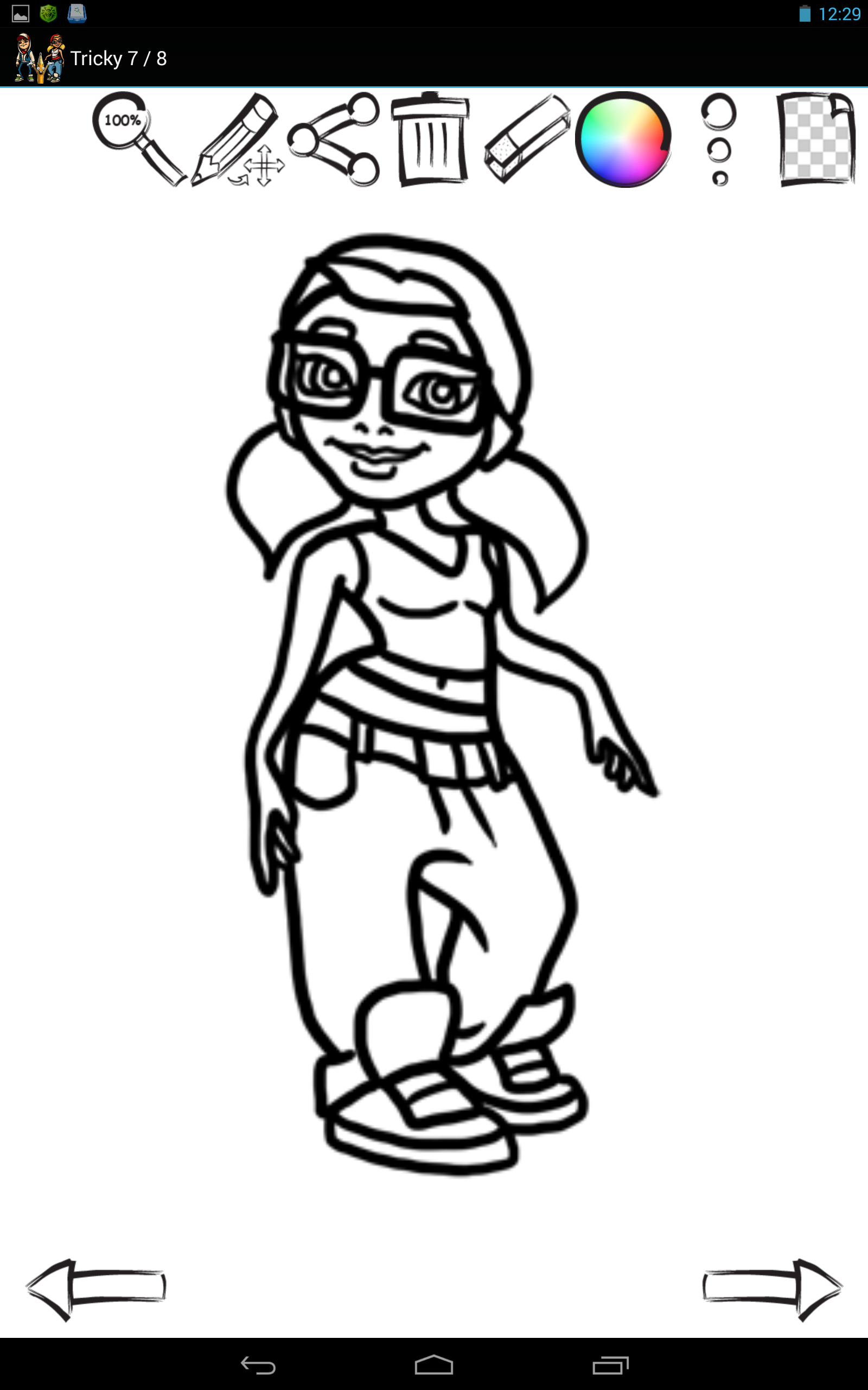 subway surfer coloring pages - photo#7