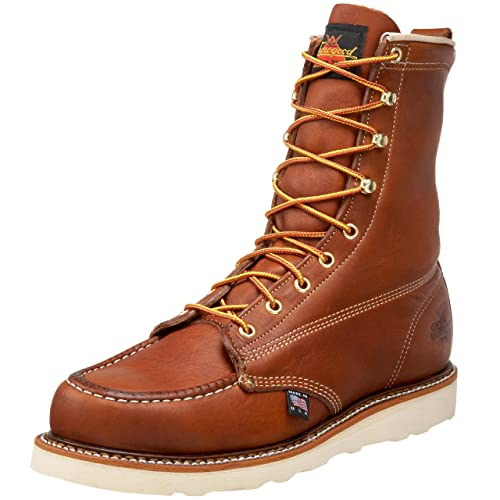 "New Style Thorogood American Heritage 8"" Moc Toe Boot For Men Clearance Outlet"