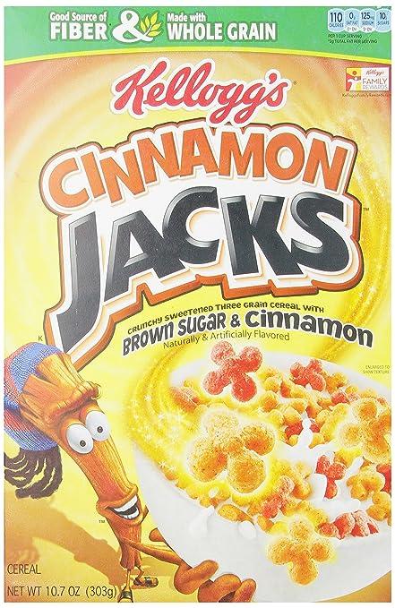 Apple Jacks Cereal Cinnamon Cinnamon Jacks Cereal