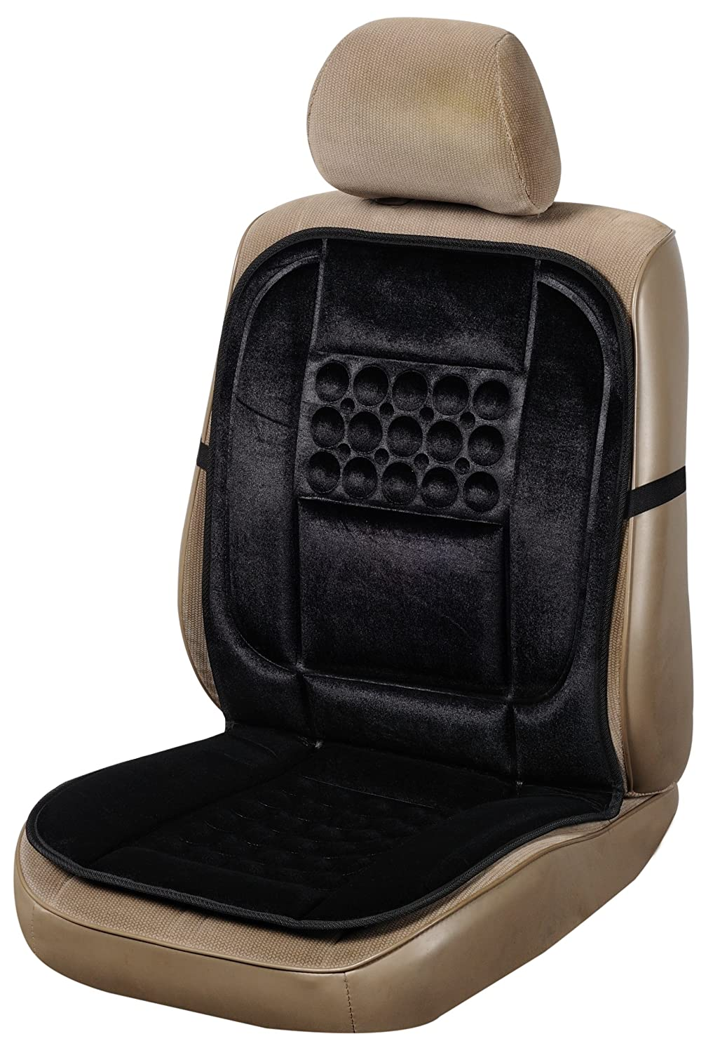 Car Seat Cover Lumba Massage Cushion Pad Bolster Bubble Office Chair Captain
