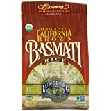Lundberg Family Farms Organic California Basmati Rice, Brown, 16 Ounce