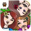 Three Sisters - Daily Dress Up and Style Makeover by TutoTOONS