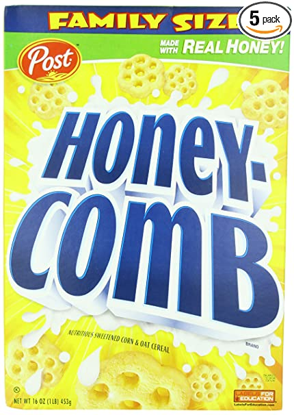 90s cereal - honey-comb