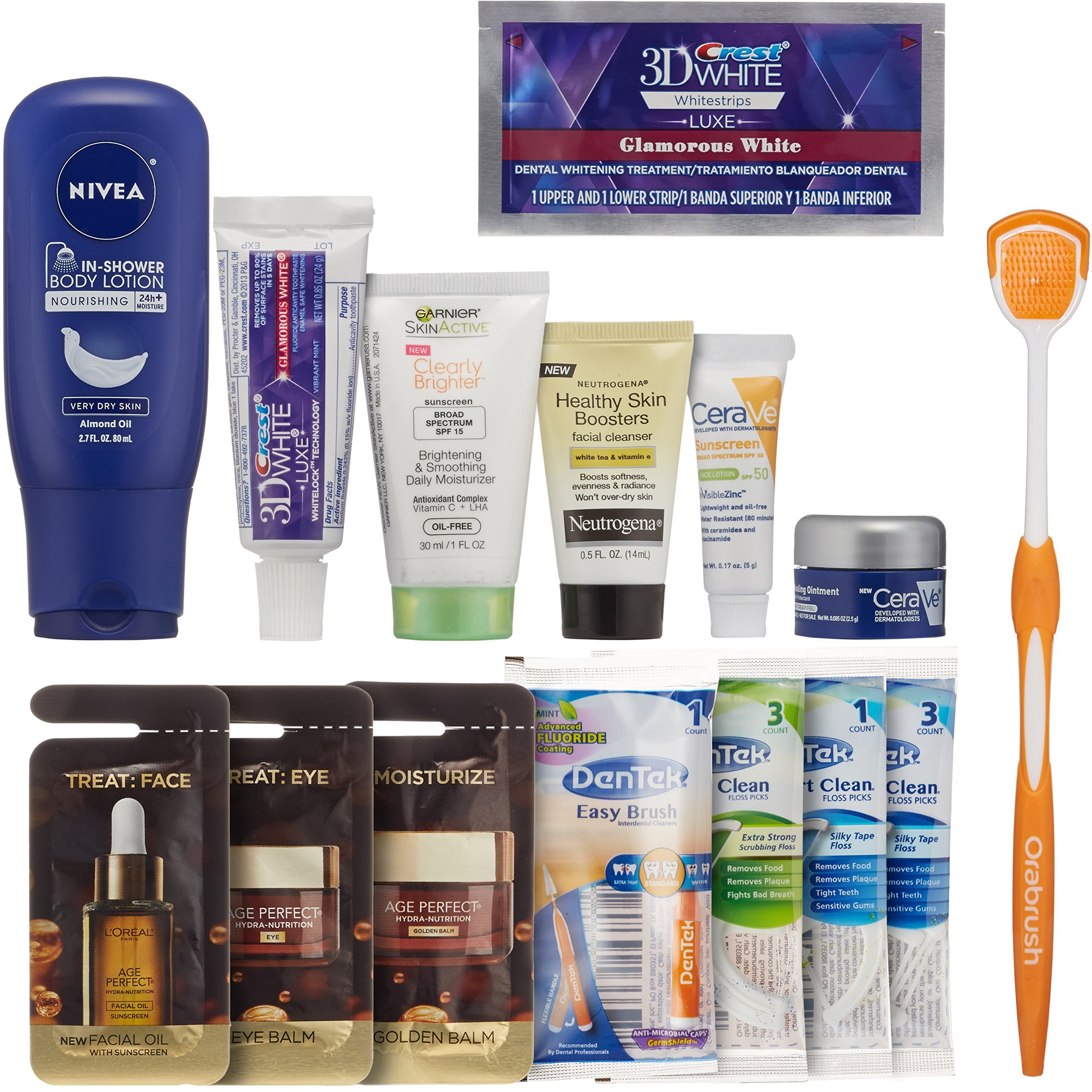 Skin & Oral Care Sample Box + $14.99 Credit