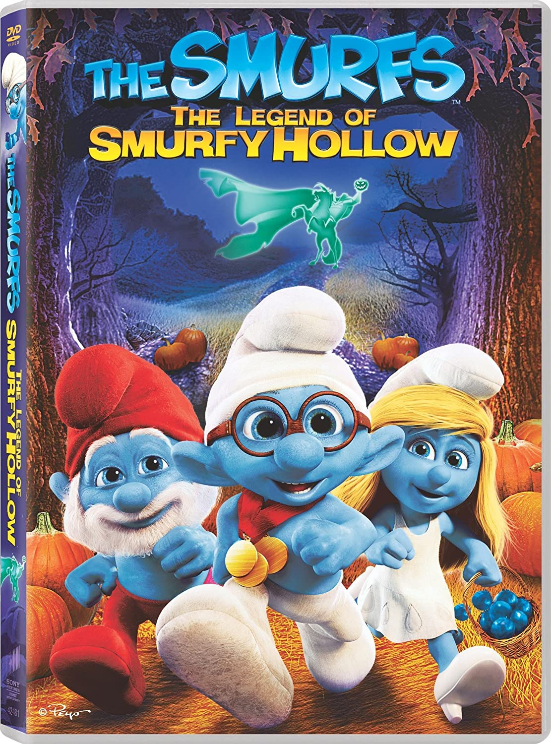 The Smurfs. The legend of Smurfy Hollow [videorecording]