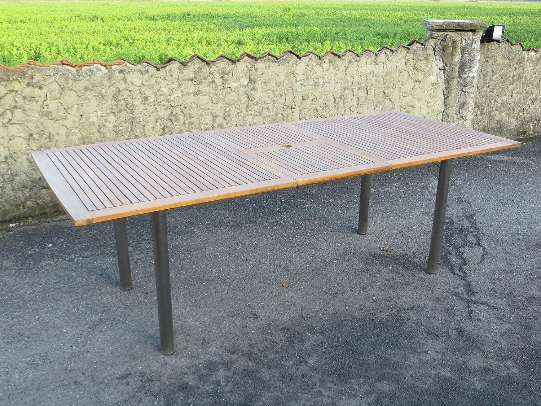 Landmann Ausziehtisch 180 auf 230 x 100 cm, Gestell Edelstahl mit Akazien-Platte, FSC-zertifiziert Belardo günstig bestellen