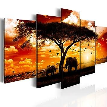 impression sur n toile toile 200x100 cm grand format 5 parties image sur toile. Black Bedroom Furniture Sets. Home Design Ideas