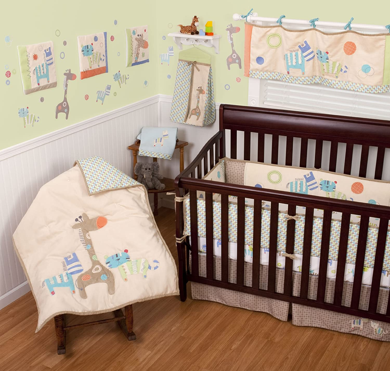 Animal Spots and Stripes Bedding