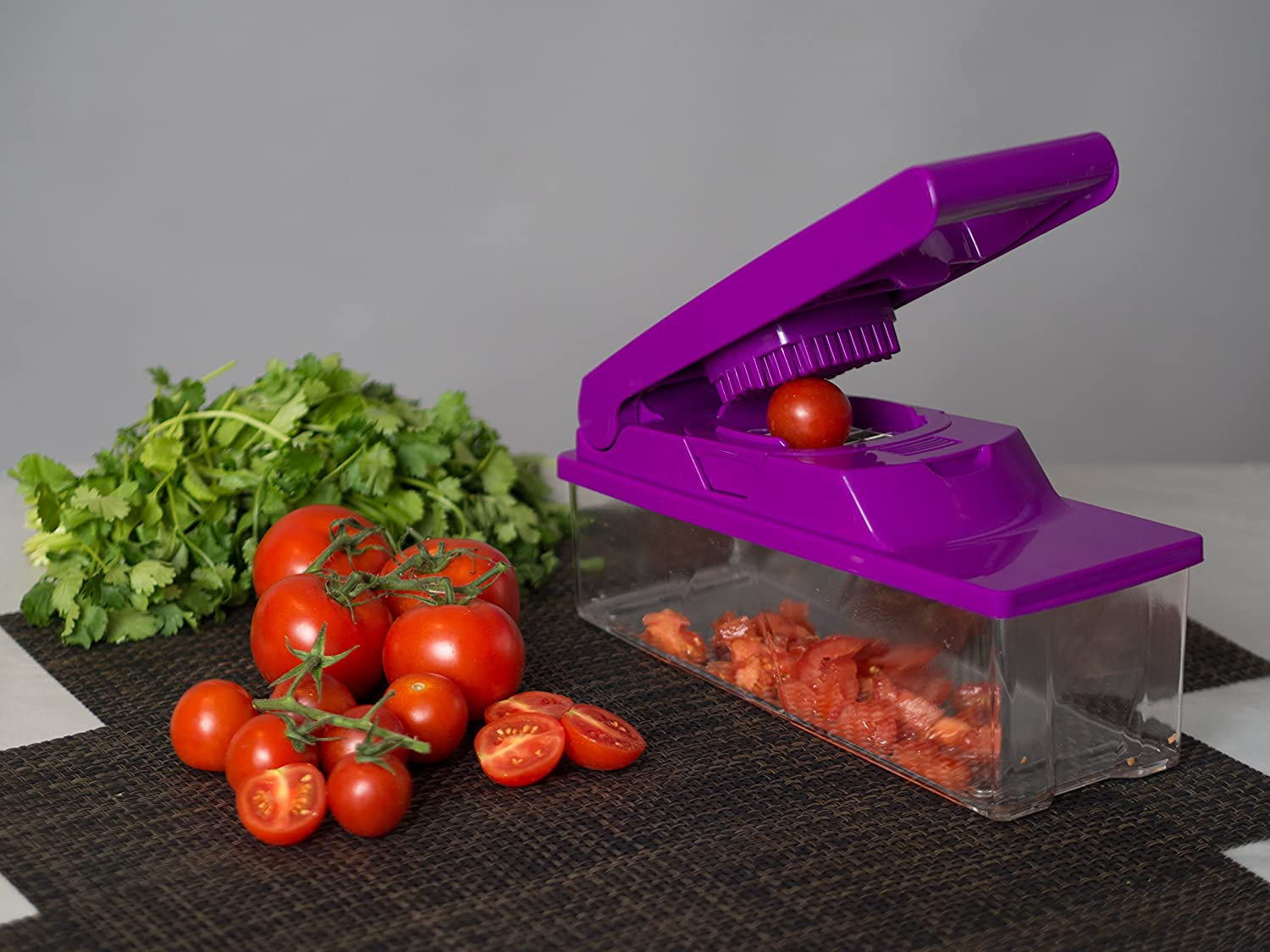 Bliss Our Home Premium Vegetable and Fruit Chopper, Multifunctional Slicer, Grater, and Dicer