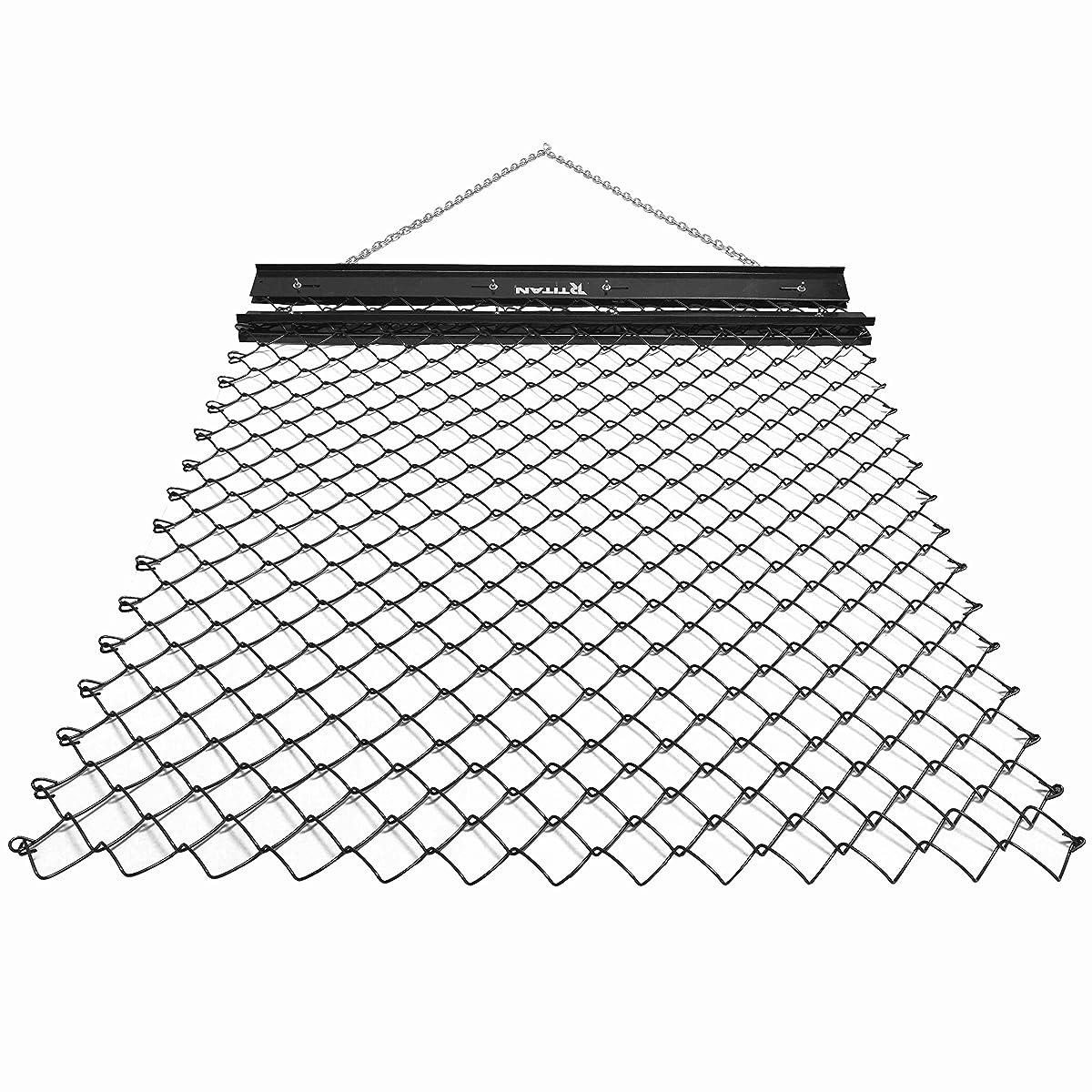 Titan 4 x 5 Drag Harrow Grading Leveling Drag Mat Steel Mesh