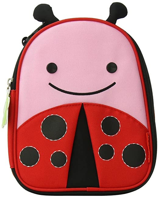 Skip Hop Zoo Lunchie Insulated Lunch Bag, Ladybug