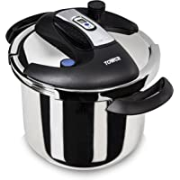 Tower T90103 6L One Touch Pressure Cooker (Stainless Steel)
