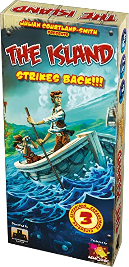 Asmodee - ISL02ML - The Island - Expansion Strikes Back