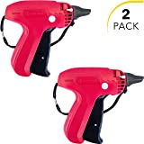 Clothes Tagging Gun Set (2 Pack) by desired tools: Handheld Security and Pricing Label Tag Applicator for Boutiques, Family Yard Sales, Flea Markets & Warehouses - Standard Fastener Attachments