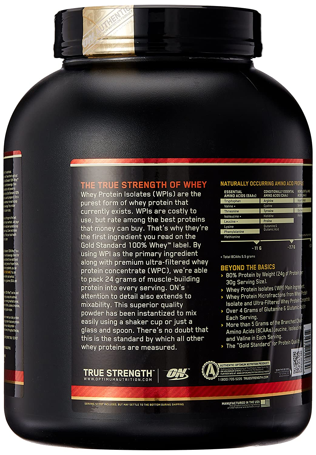 ON Whey Gold Standard - 5 lb Strawberry Banana