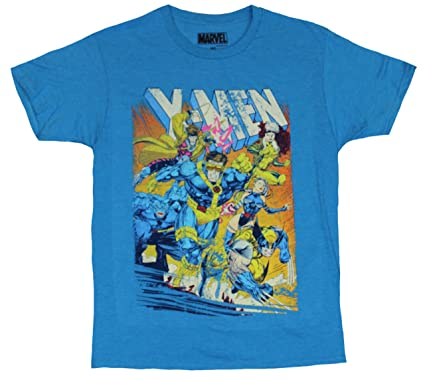 Amazon.com: X-Men (Marvel Comics) Mens T-Shirt- Jim Lee's Cyclops ...