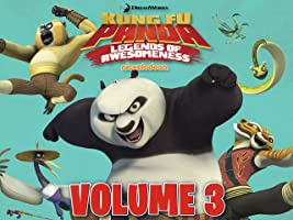 Kung Fu Panda: Legends of Awesomeness Volume 3