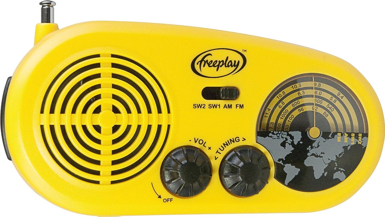 Freeplay Solar Windup Assist Radio Amp Phone Charging