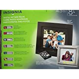 Insignia NS-DPF8WW-09 - Digital photo frame - flash 128 MB - 8