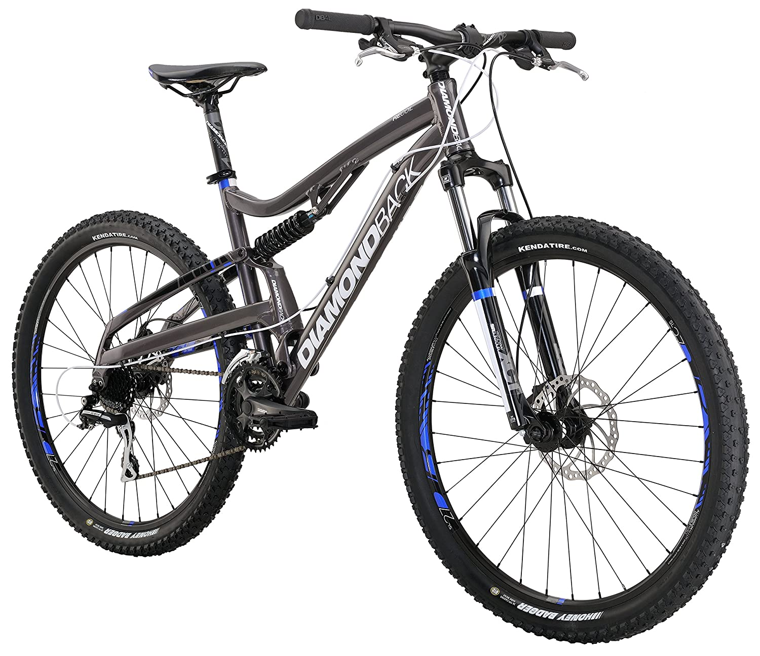 Diamondback Bicycles 2015 Recoil Full Suspension Complete Mountain Bike Review 1