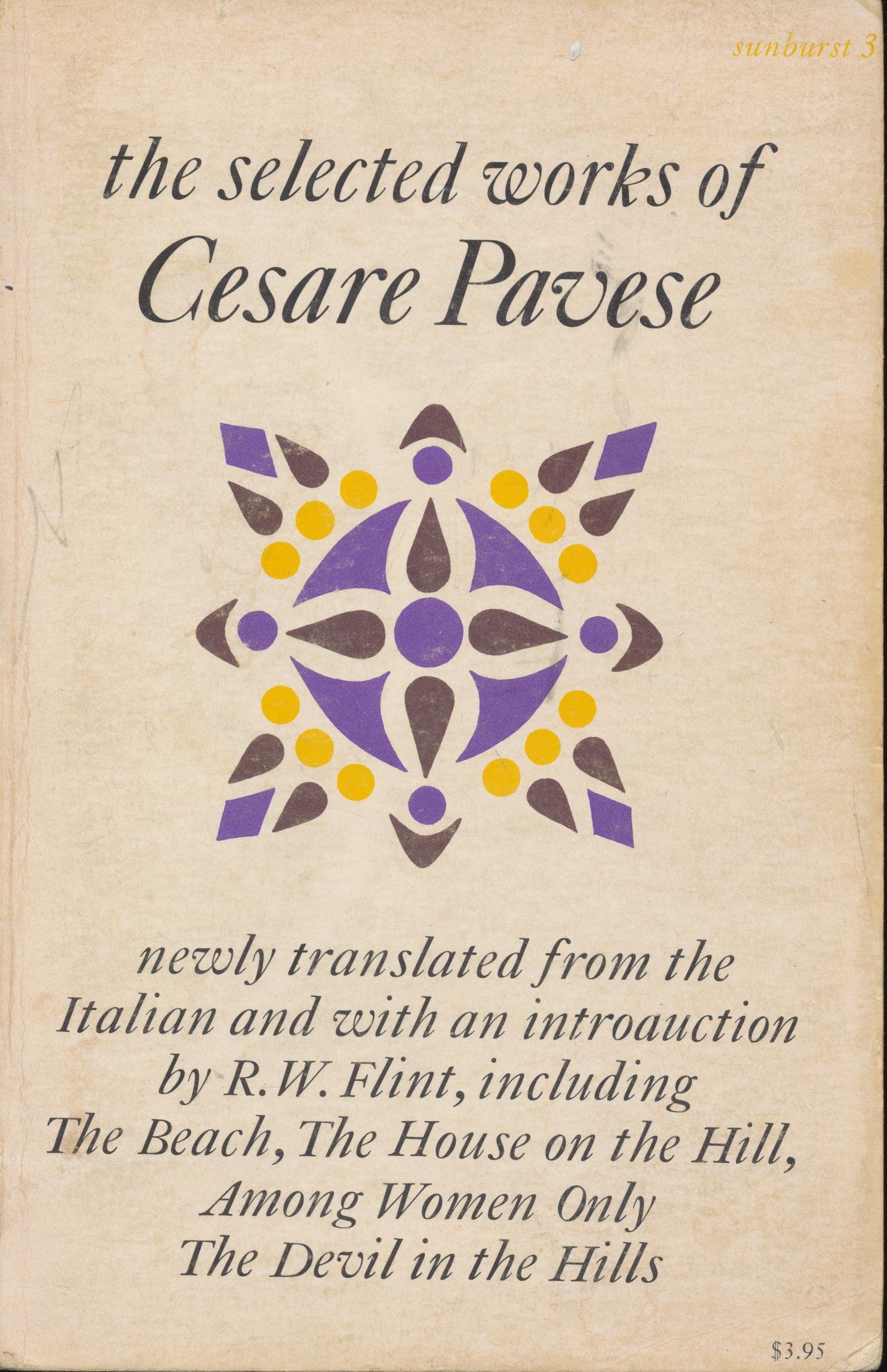 Selected Works of Cesare Pavese, Pavese, Cesare