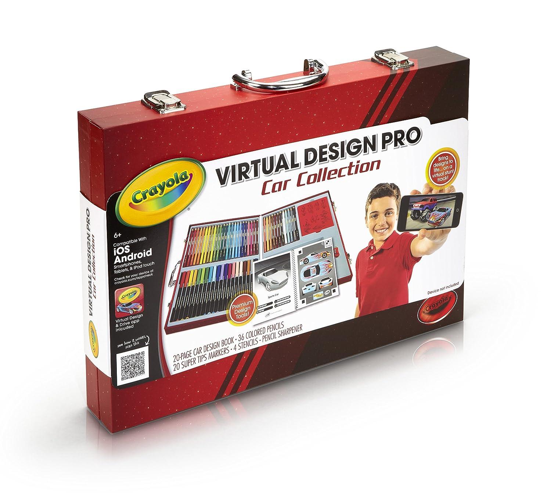 Crayola Virtual Design Pro Cars Set New Free Shipping Ebay