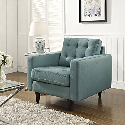 Empress Upholstered Armchair, Laguna
