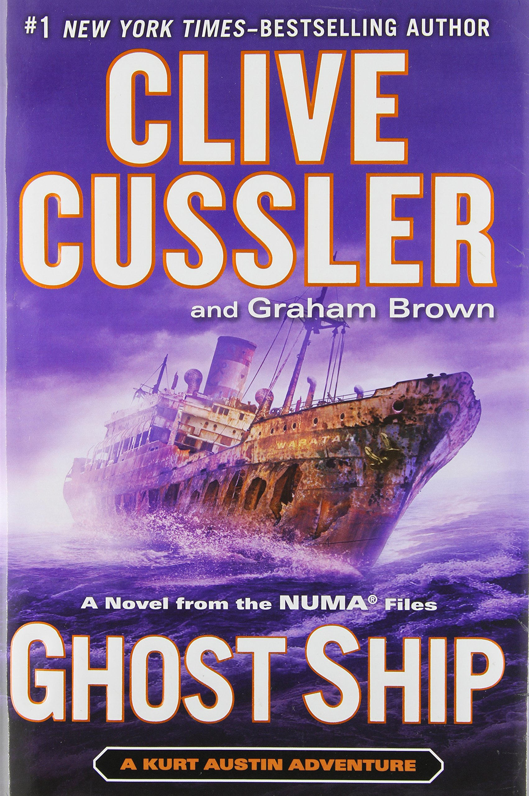 Ghost Ship (The Numa Files)  - Clive Cussler