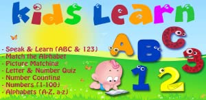 Kids Learn (ABC & 123) (Fire Tv Edition) by YASH FUTURE TECH SOLUTIONS PVT. LTD