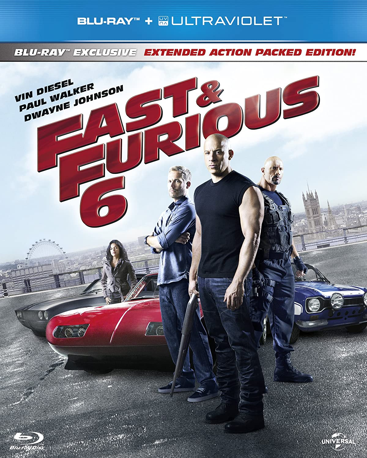 fast furious 6 limited edition packaging blu ray. Black Bedroom Furniture Sets. Home Design Ideas