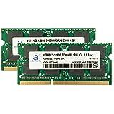 Adamanta 16GB (2x8GB) Apple Memory Upgrade Compatible for iMac, MacBook Pro, Mac Mini DDR3L 1600Mhz PC3L-12800 SODIMM 2Rx8 CL11 1.35v RAM (Tamaño: 16 Gb)