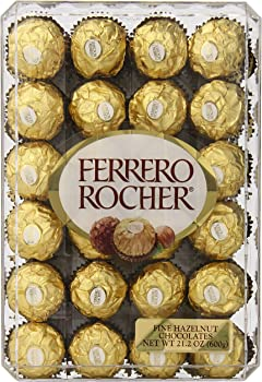48-Count Ferrero Rocher Hazlenut Chocolate