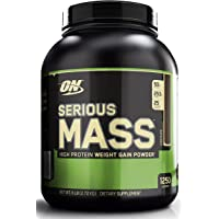 Optimum Nutrition Serious Mass Gainer 6 Pound Chocolate Protein Powder