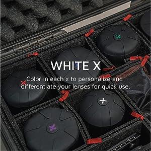 KUVRD Universal Lens Cap 2.0 - Fits 99% DSLR Lenses, Element Proof, Lifetime Coverage, Magnum, 2-Pack (Tamaño: 2-Pack)