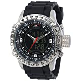 Reloj Color negro Analogo/Digital U.S. Polo Assn. US9047 con Dial Negro para Caballero