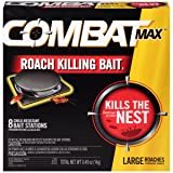 Combat Source Kill Max R2 Large Roach Bait - 1 Box (8 Bait Stations Total) (Tamaño: 8 Count)