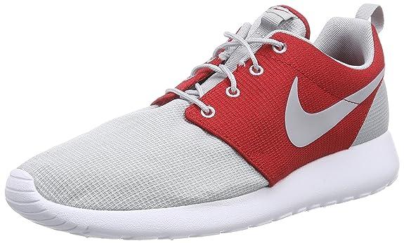 Nike Roshe Run Rot Grau