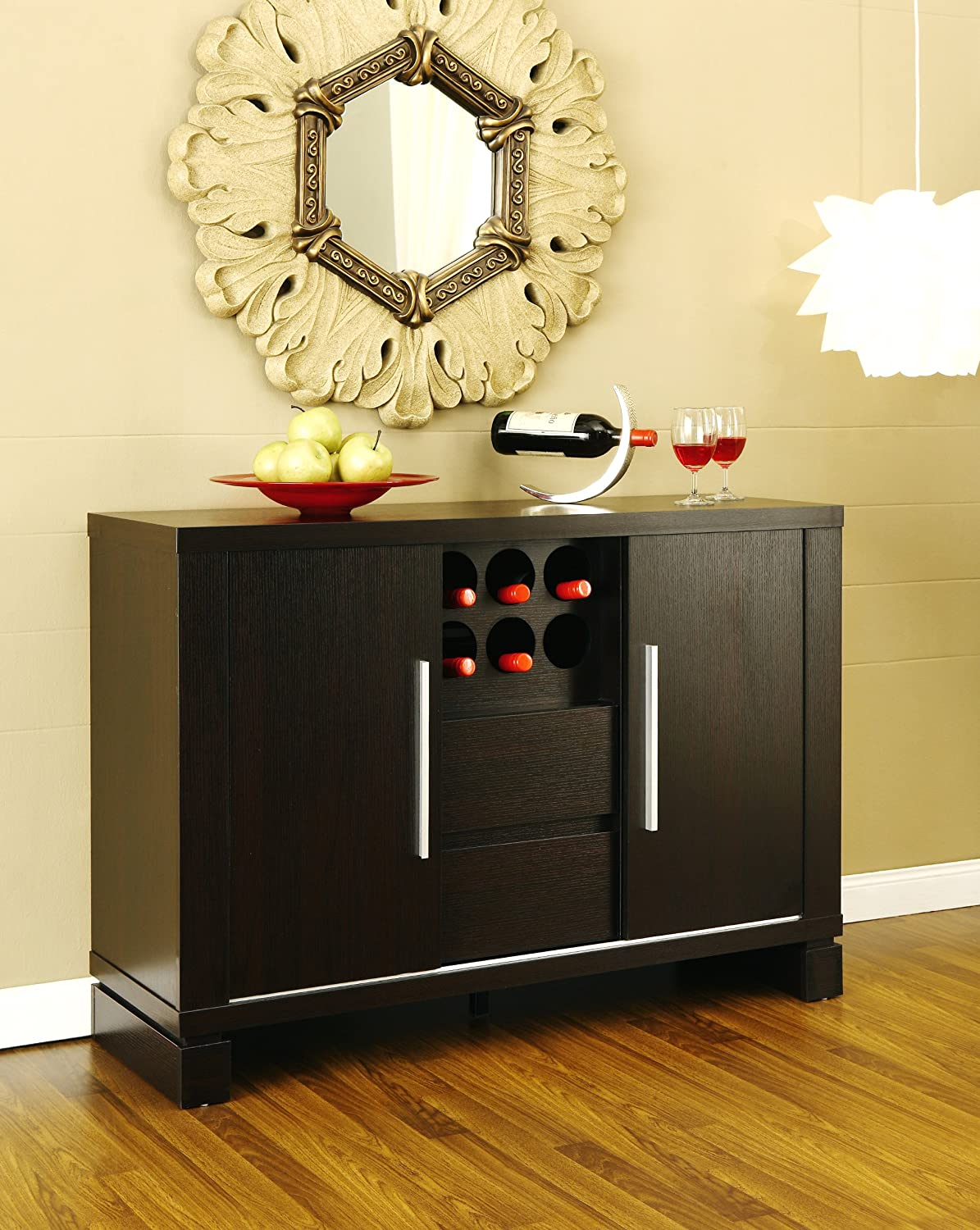 Dining furniture buffet credenza homes decoration tips - Buffet table images ...