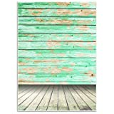 Vintage Wood Background - Photography Backdrop - Great Studio, Booth, Party, Photo, Wedding, Business Use, 4.9 x 7.2 Feet (Color: Vintage Wood)