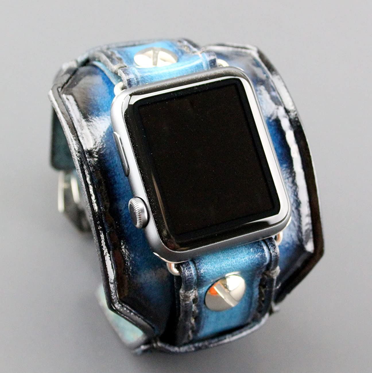Blue Apple Watch Band, apple watch strap, Apple watch strap, Apple watch cuff, apple watch strap, apple watch 38 mm, apple watch 42mm 2