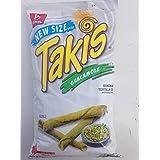 Takis Guacamole By Barcel Mild Guacamole Tortilla Chips 9.9 oz